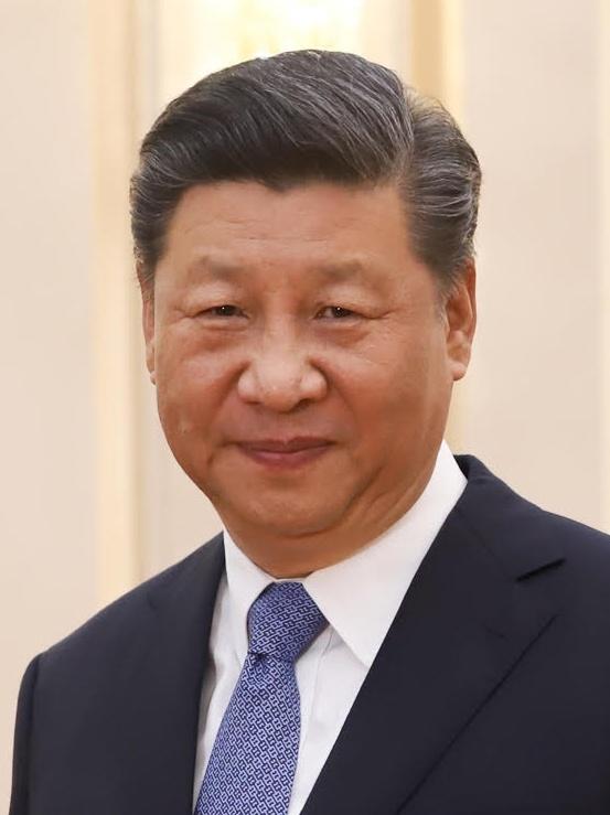 Il leader del partito comunista cinese Xi Jinping