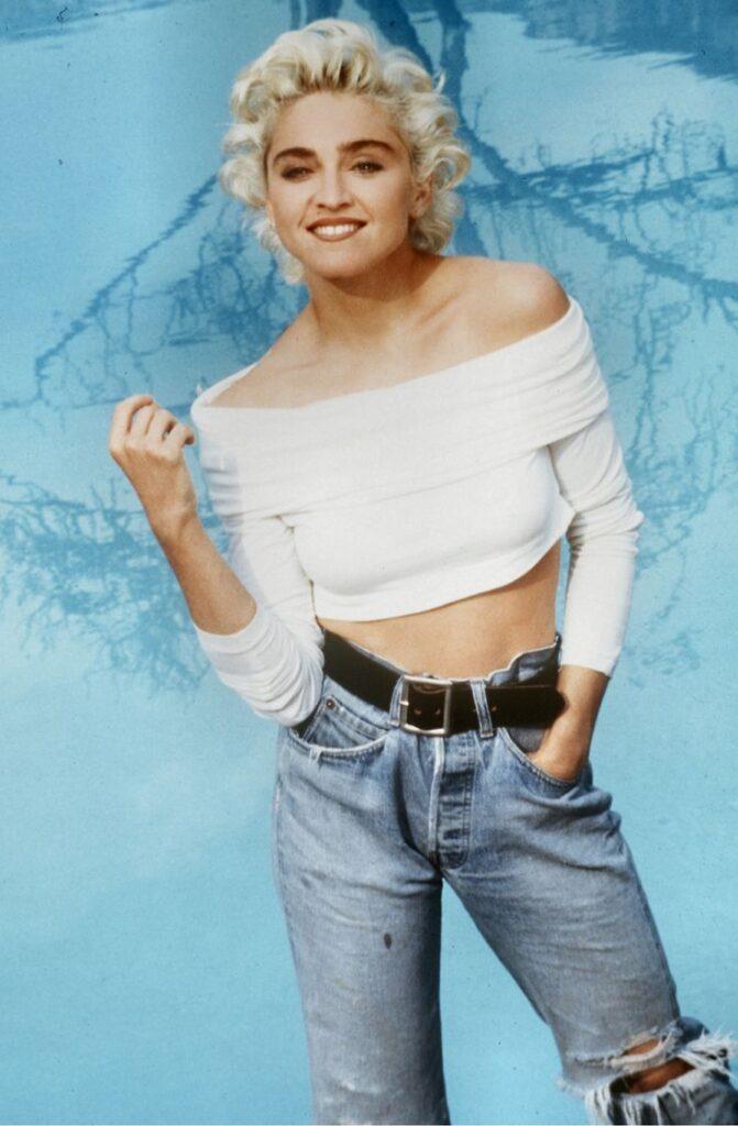 Anni '80 - Madonna e i jeans.