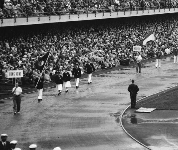 Hong Kong alle Olimpiadi del 1952.