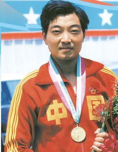 Prima medaglia d'oro della Cina alle olimpiadi