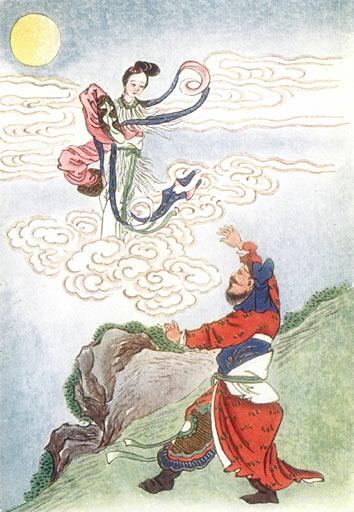 Leggenda di Chang'e e Hou Yi