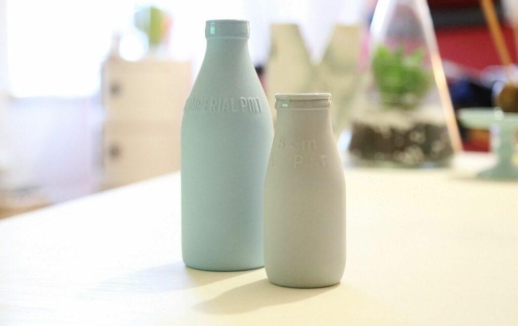 Yogurt fortificato con vitamina D da bere