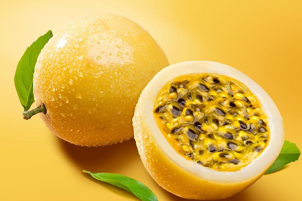 Frutto della passione giallo