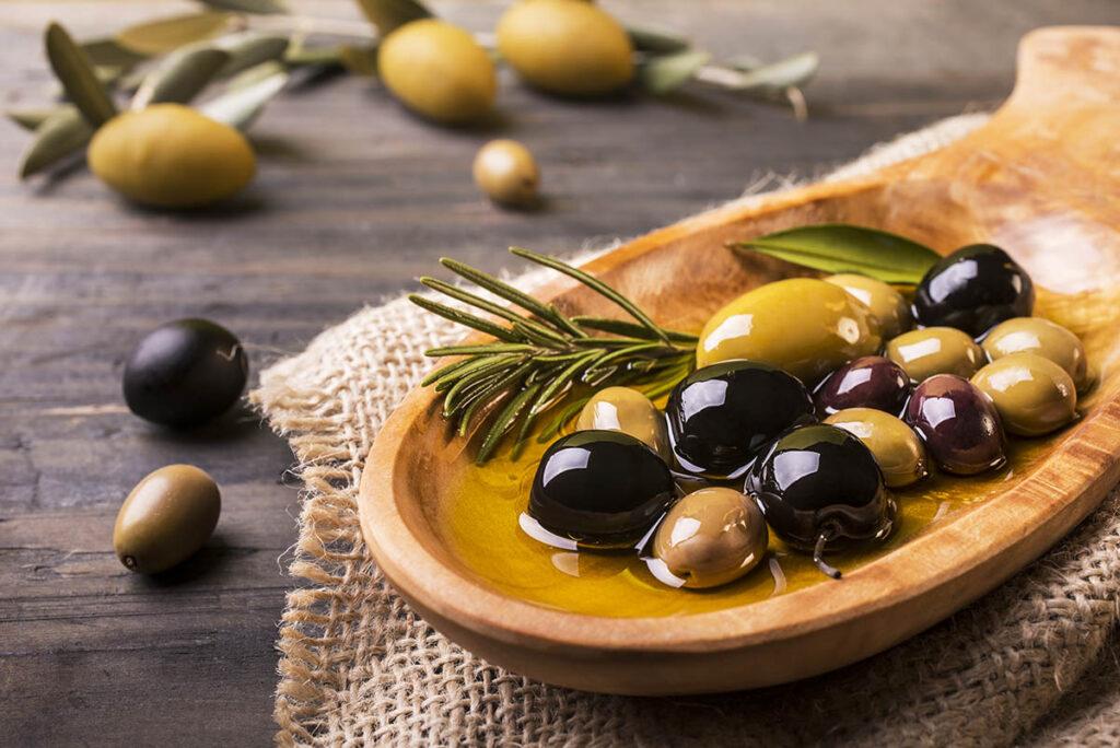 olive da tavola condite